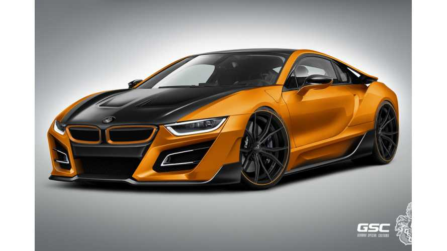 Tuned GSC BMW i8 iTRON Revealed