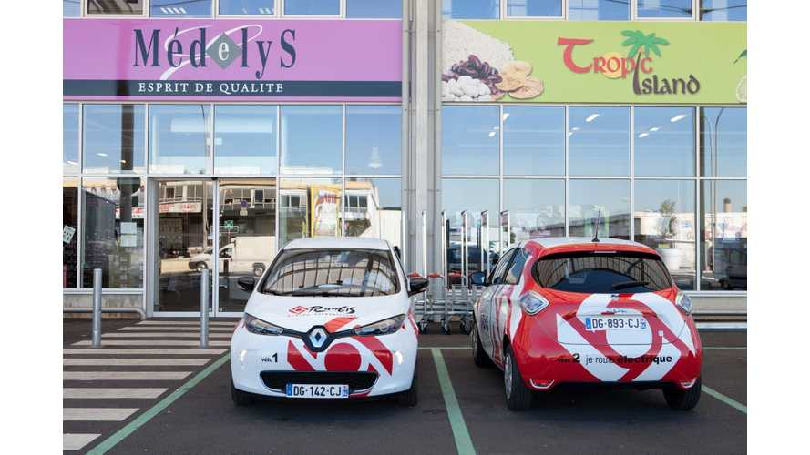 SEMMARIS Inaugurates Fleet of Seven Renault ZOE