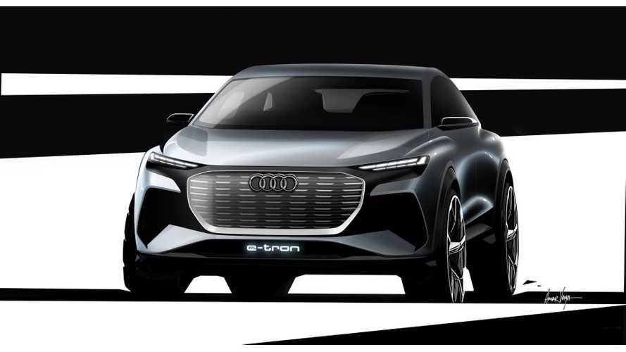 Audi Teases Q4 e-tron Concept Ahead Of Geneva Debut