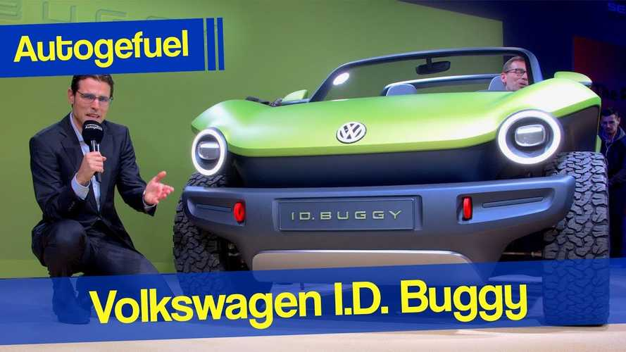 Volkswagen I.D. Buggy Shows Groovy Style In Geneva: Video