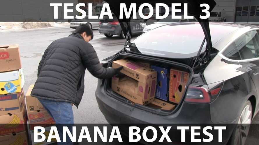 Tesla Model 3 Beats Just 6 Cars In Banana Box Test: Video