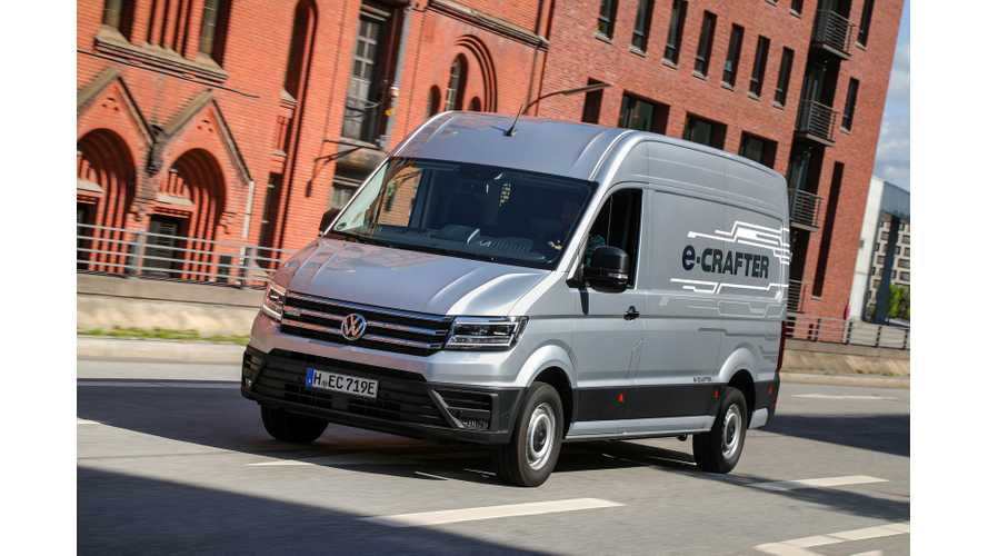 Volkswagen e-Crafter Electric Van: Test Drive Review