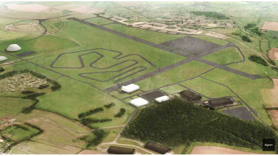 Dyson To Build 10 Miles Of Electric Car Test Track