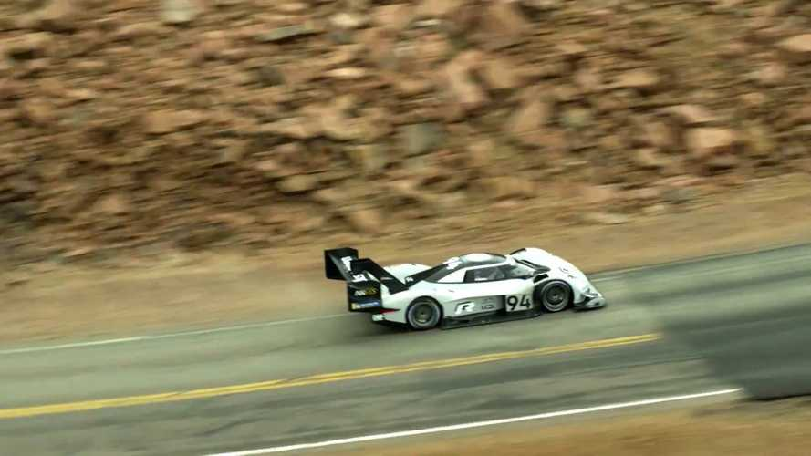 Watch As Helicopter Attempts To Film Record-Setting VW I.D. R Run