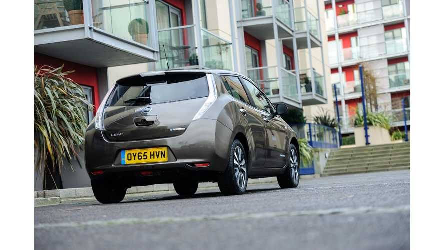 Save Over £10,814 ($13,500 USD) On A Nissan LEAF In The UK