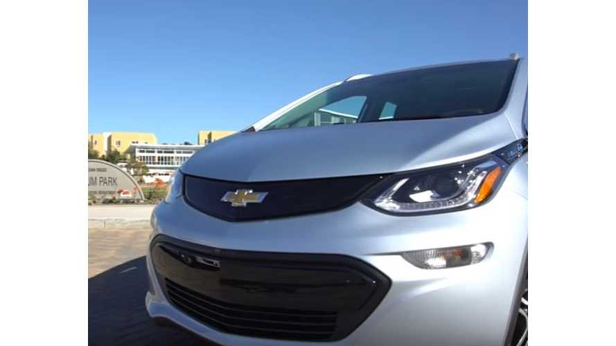 Teslanomics' Ben Sullins Test Drives Chevrolet Bolt - Video