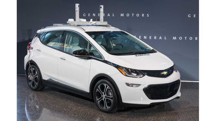 Self-Driving Chevrolet Bolt Reportedly Involved In Accident In San Francisco