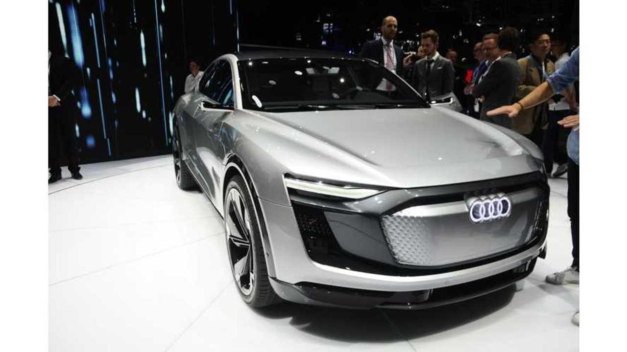 Audi E-Tron SUV Racing To Beat Jaguar I-Pace To Market