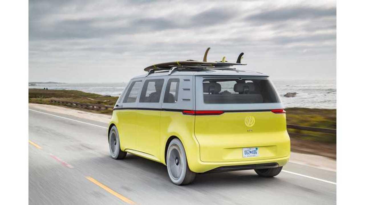 Another Volkswagen I.D. BUZZ