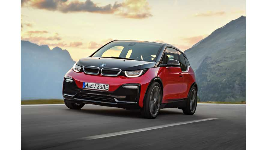 2018 BMW i3s Debuts: Higher Output In A Familiar, But Sportier Package