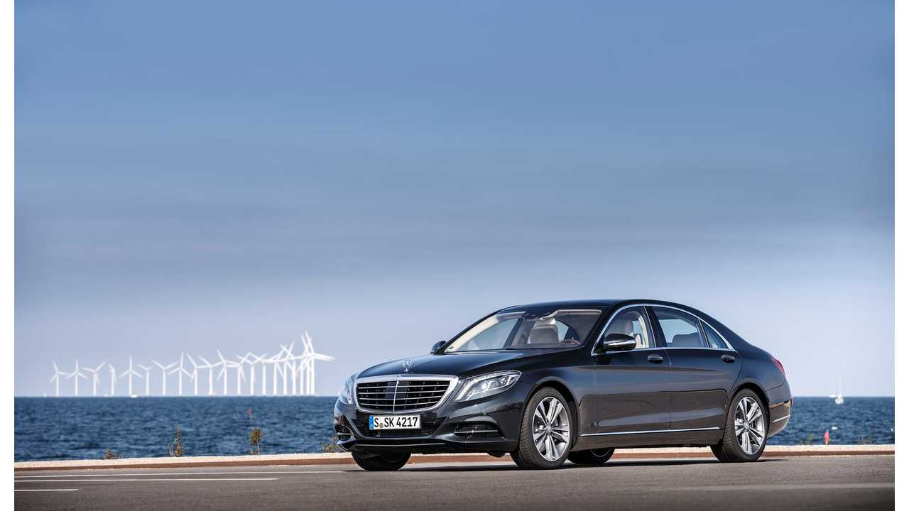 Mercedes-Benz S 500 Plug-In Hybrid Reduces Lifecycle CO2 By 56% Compared To Conventional S 500