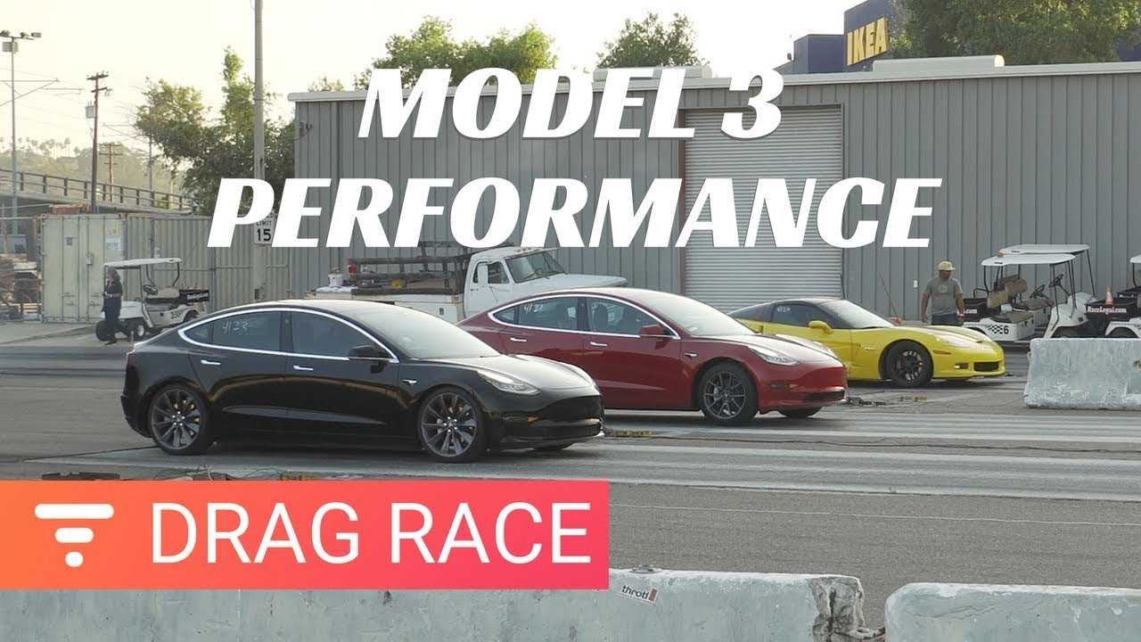 Watch Tesla Model 3 Performance Drag Race Vs. Long Range