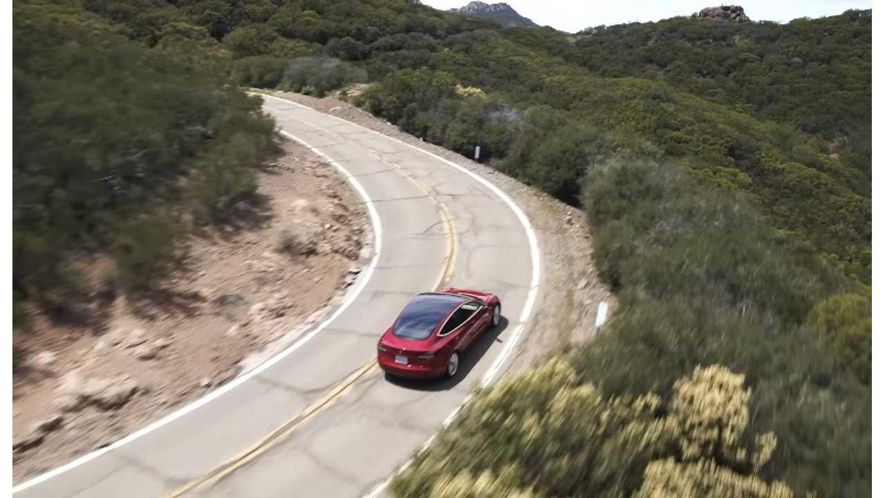 Tesla Model 3 La To Las Vegas On A Single Charge Source Larry Benjamin