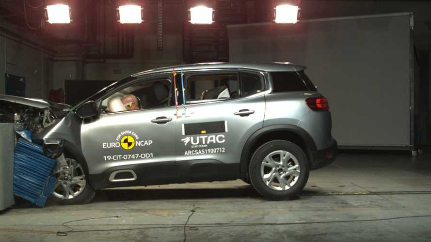Crash-tests - Au tour du Citroën C5 Aircross et du Range Rover Evoque