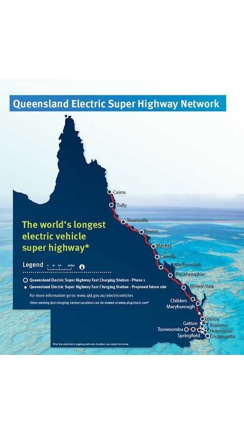 Australia Will Build An Electric Super Highway To Support EVs