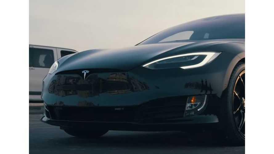TSportline Shows Modified Tesla Model S P100D - Video