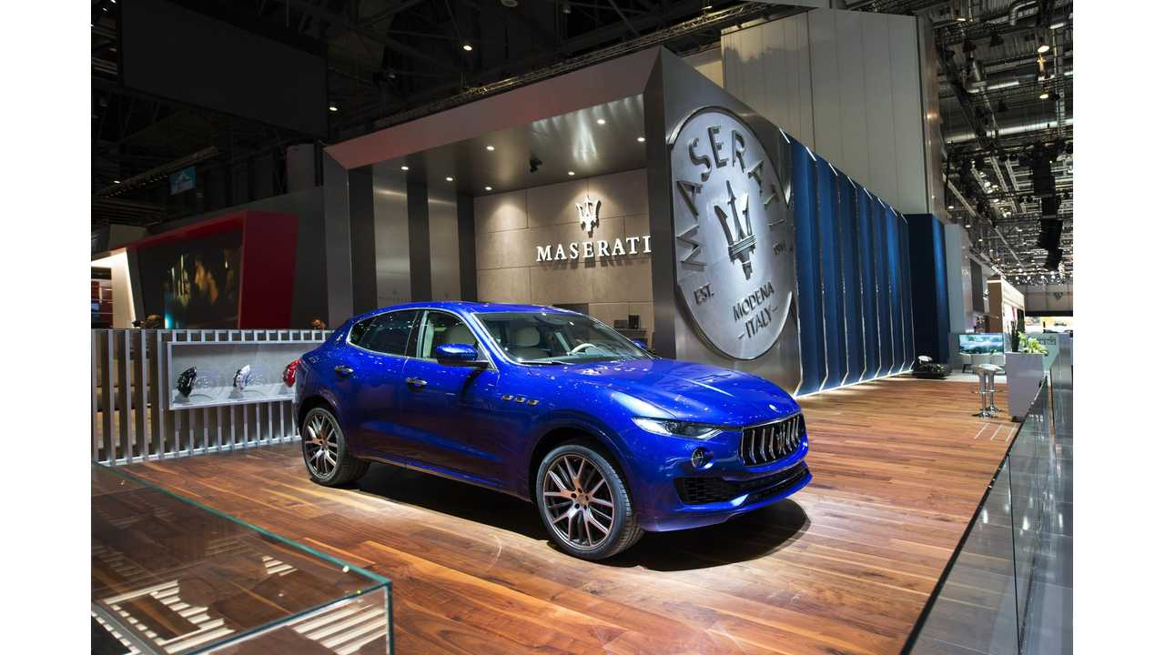 All Maseratis Will Be Electrified From 2019 On