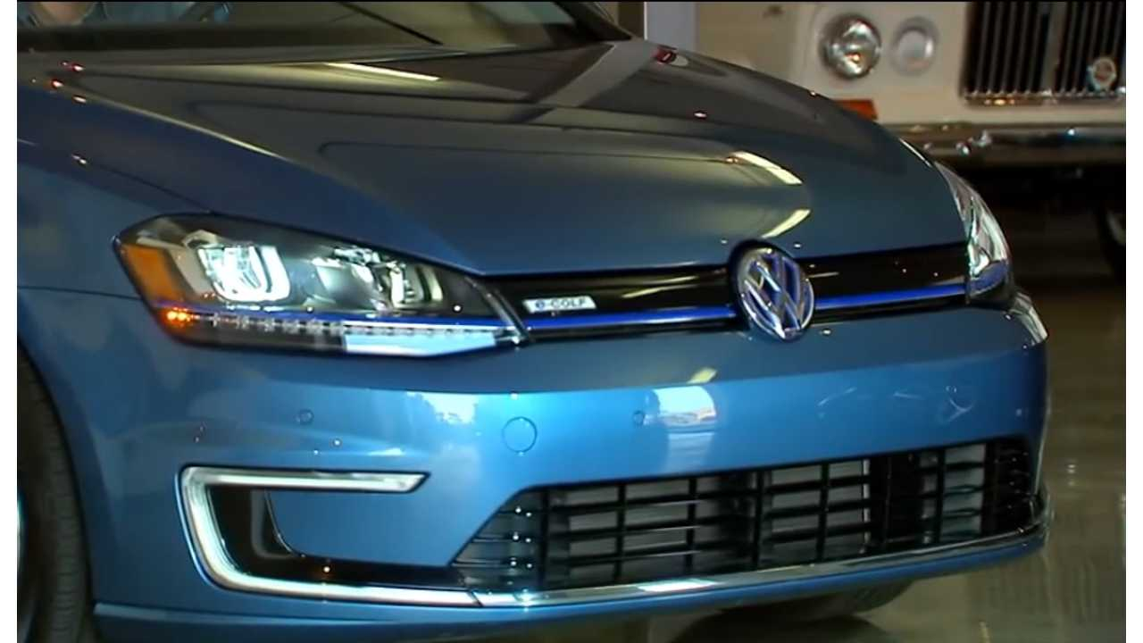 The Volkswagen e-Golf Gets Put Through Its Paces By CNET - Video