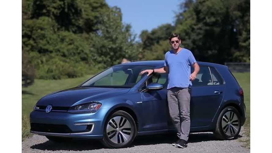 The Hooniverse Reviews Volkswagen e-Golf - Video