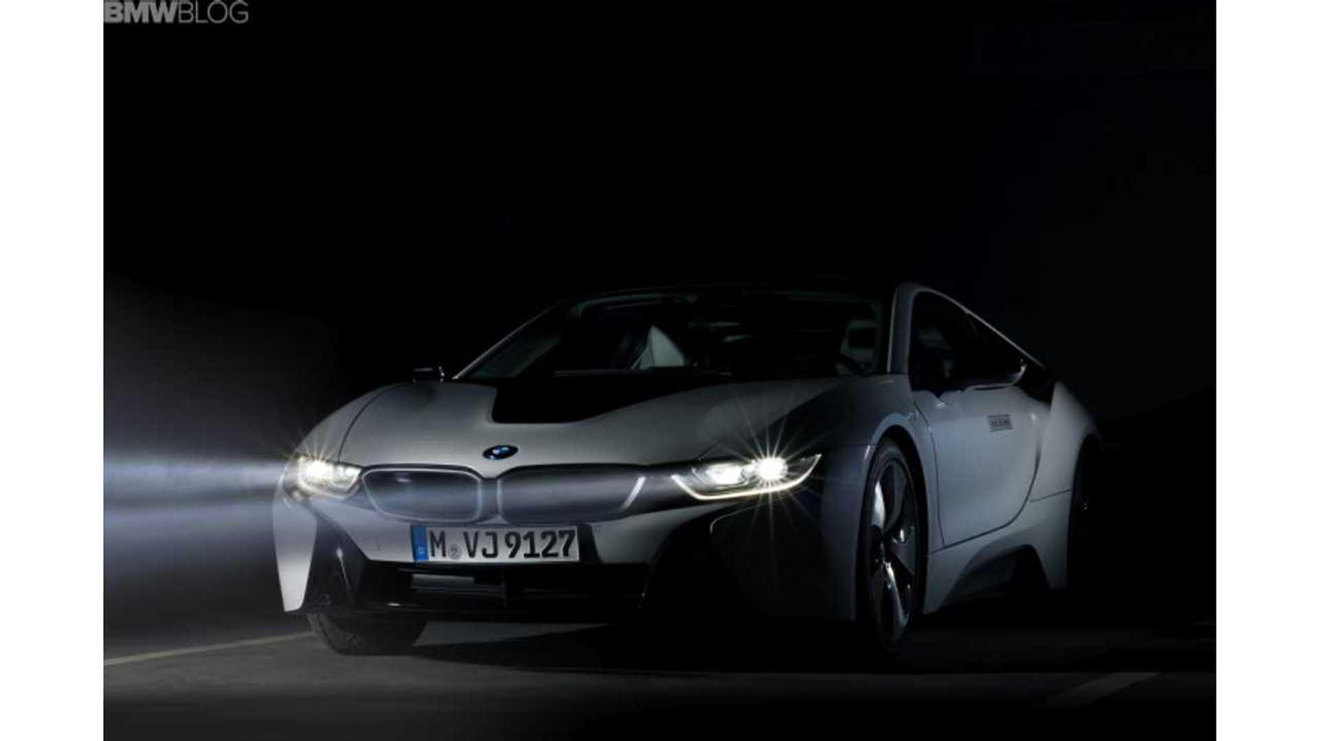 Bmw I8 Laser Lights 9 500 Euro Option In Germany
