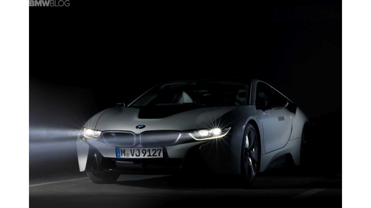 BMW i8 Laser Lights - 9,500 Euro Option In Germany