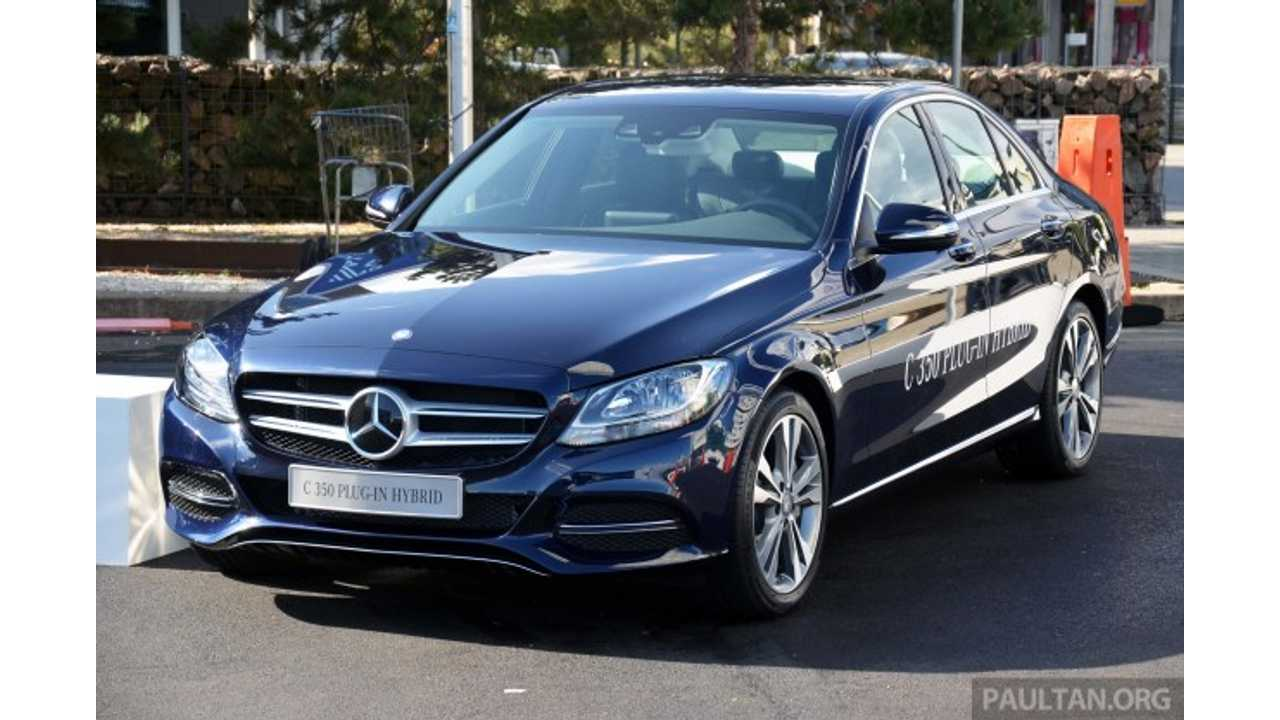 Mercedes-Benz C350 Plug-In Sheds Its Camo, Launches In 2015