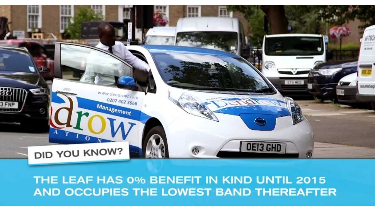 How Dendrow Estate Agents In London Use The Nissan LEAF - Video