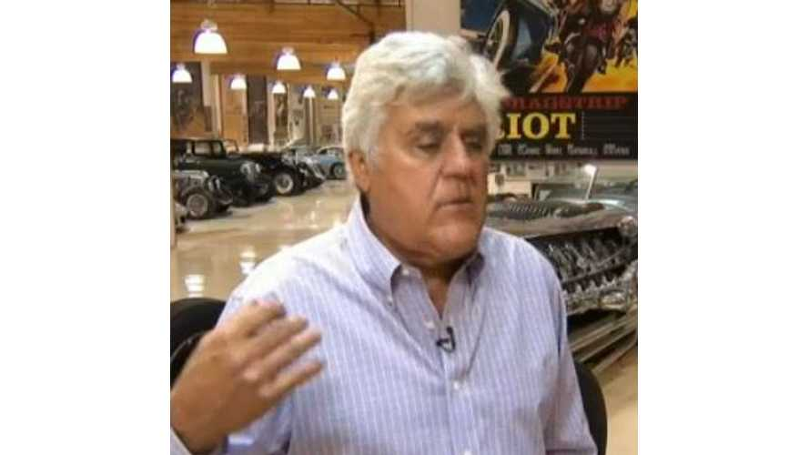 Jay Leno On Success Of Tesla Motors - Video