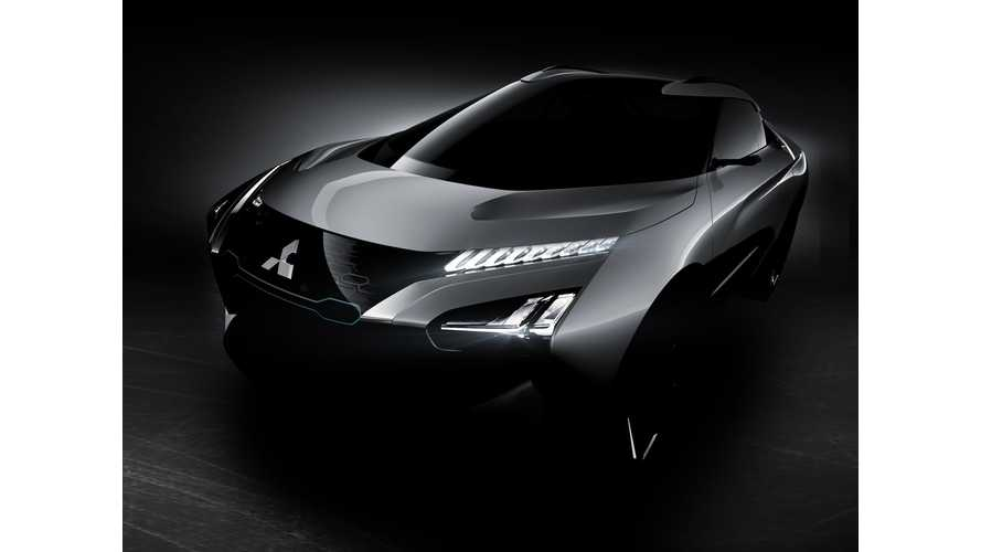 Mitsubishi e-EVOLUTION Concept Is All-Electric All-Wheel Drive SUV