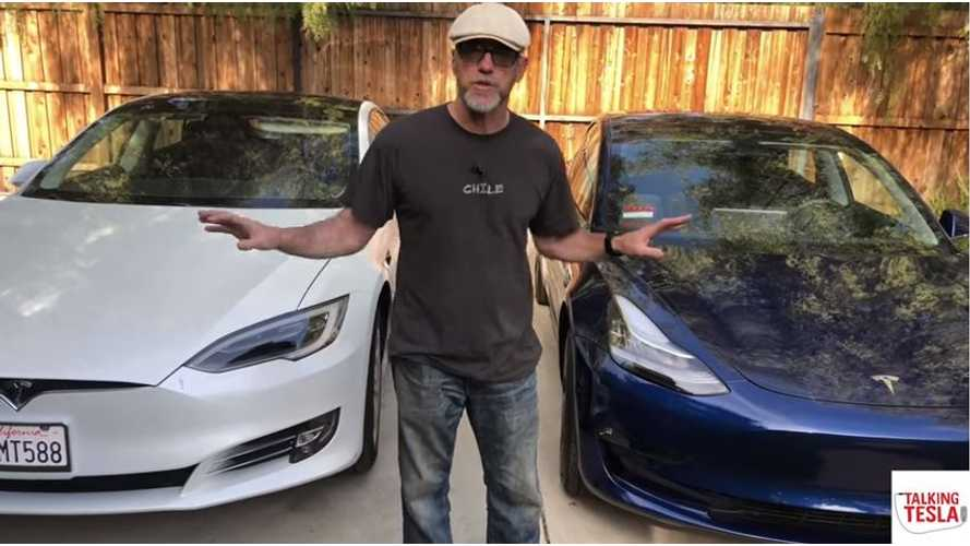 Talking Tesla Takes Delivery Of Model 3 - First Impressions Video Nails It