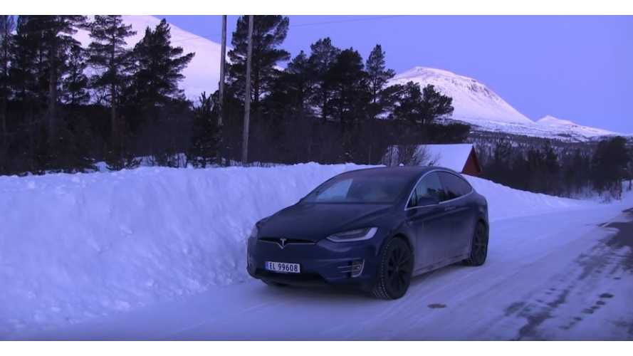 Watch A Tesla Model X Survive Extreme Testing At -36°C/-33°F
