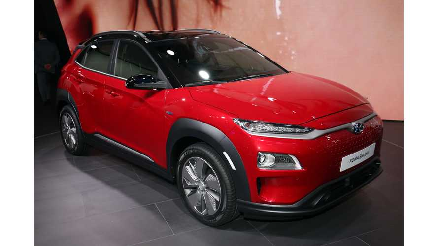 Hyundai Kona Electric Makes World Debut In Geneva - Photos & Videos