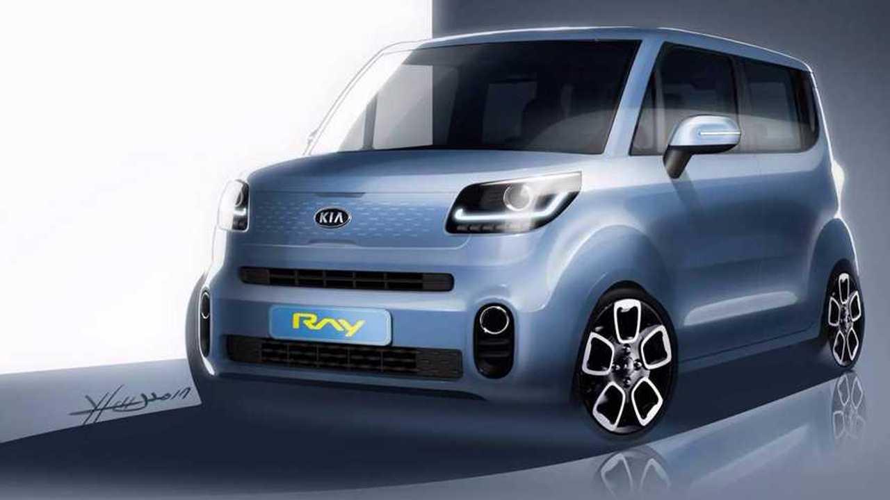 New Kia Ray Teased