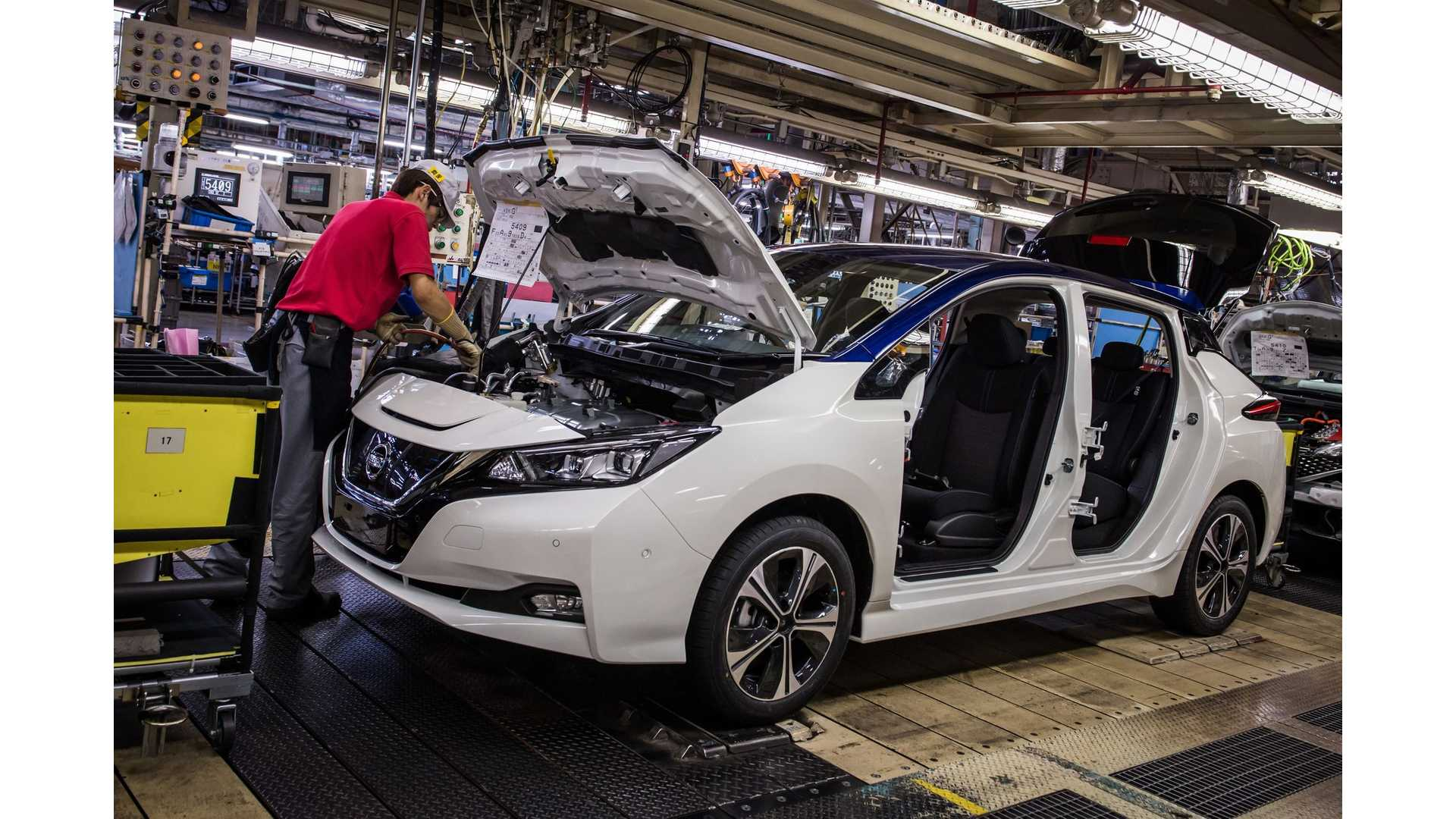Production Of 2018 Nissan Leaf To Begin In Us Uk By The End 2017 Video