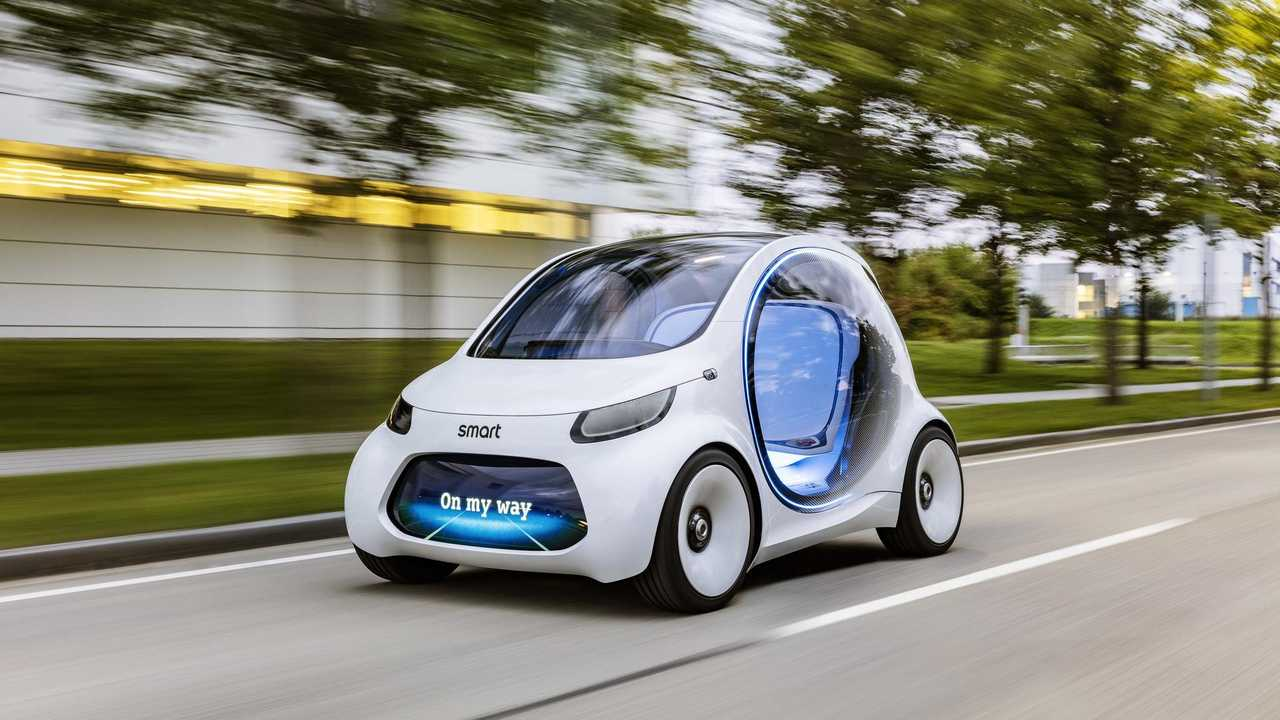 Smart Vision EQ ForTwo Is One Car For All