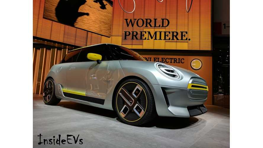 World Debut: Mini Electric Concept Live At Frankfurt Motor Show