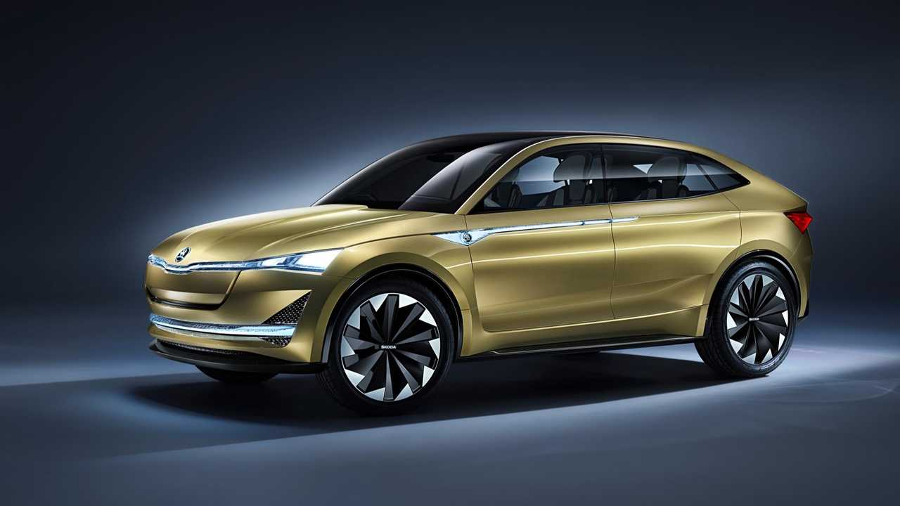 Skoda Vision E Electric Will Be Offered In SUV Form