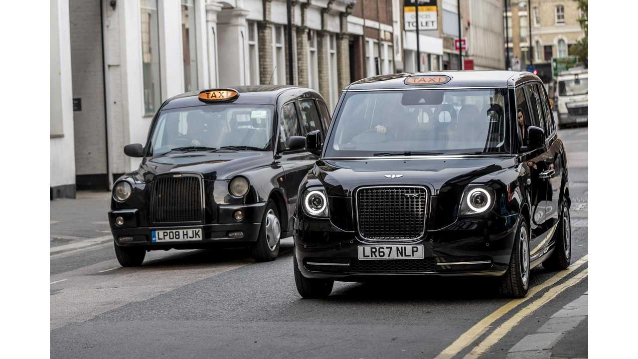 British-Built Electric Taxi Gets Approved For Use In Paris