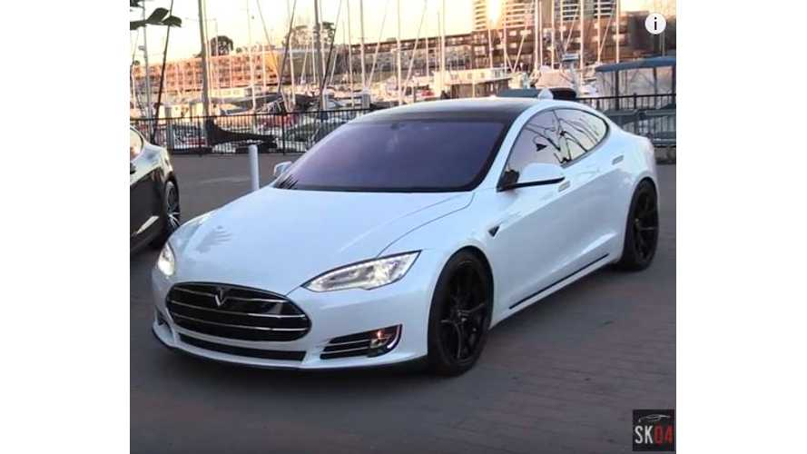 2016 Tesla Model S P90D w/Ludicrous Mode – Best Video Review To Date