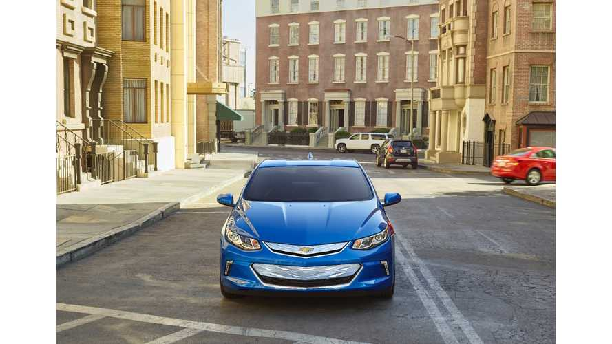 Comparison Puts 2016 Chevrolet Volt In Last Place Against BMW i3 & Audi A3 e-tron