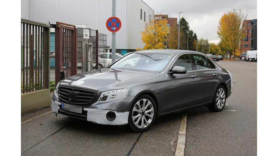 Mercedes-Benz E350e Plug-In Hybrid To Launch In 2017