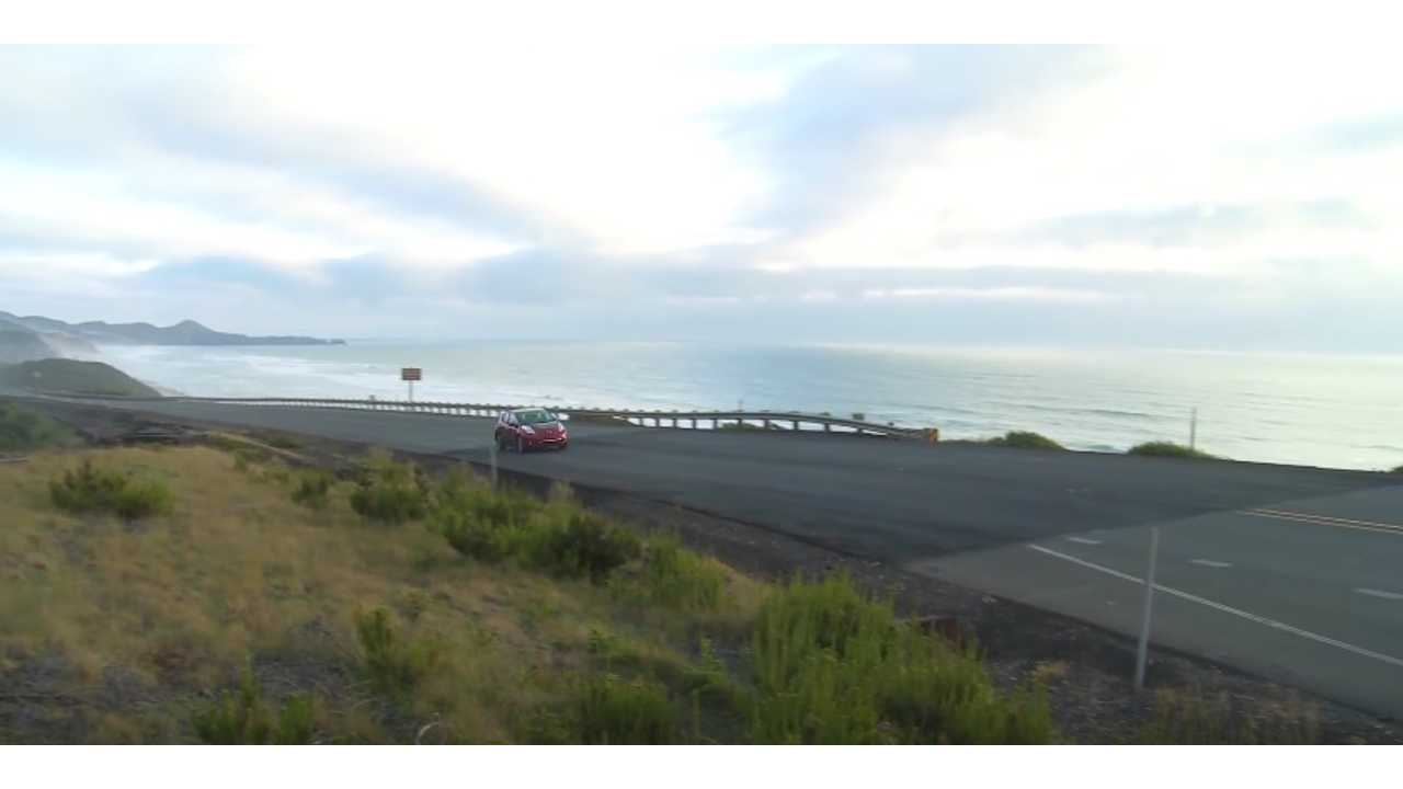Discovering The Pacific Coast Scenic Byway In A Nissan LEAF - Video