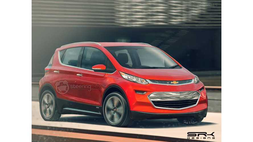 Steering News Renders Production Version Of Chevrolet Bolt