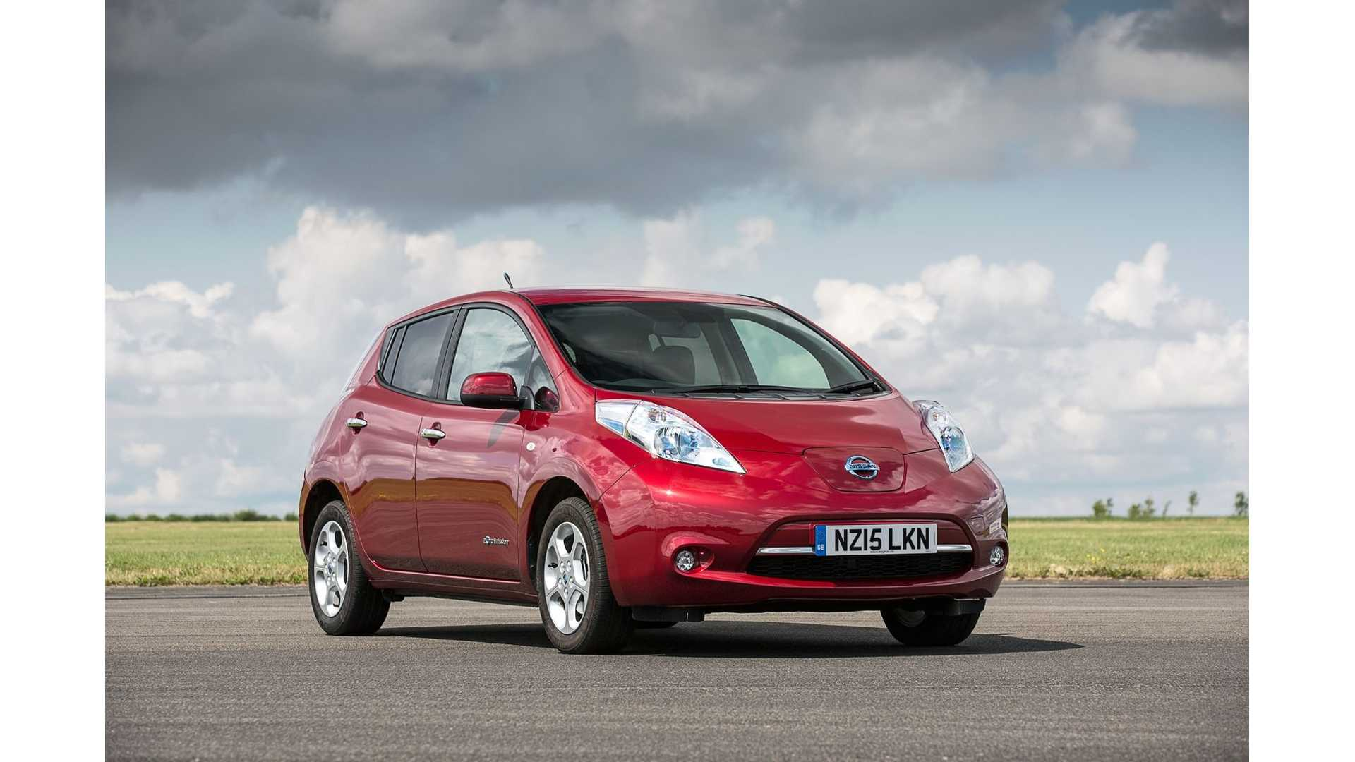 Nissan Leaf Ranked Among Top 10 Most Reliable Cars Of 2015