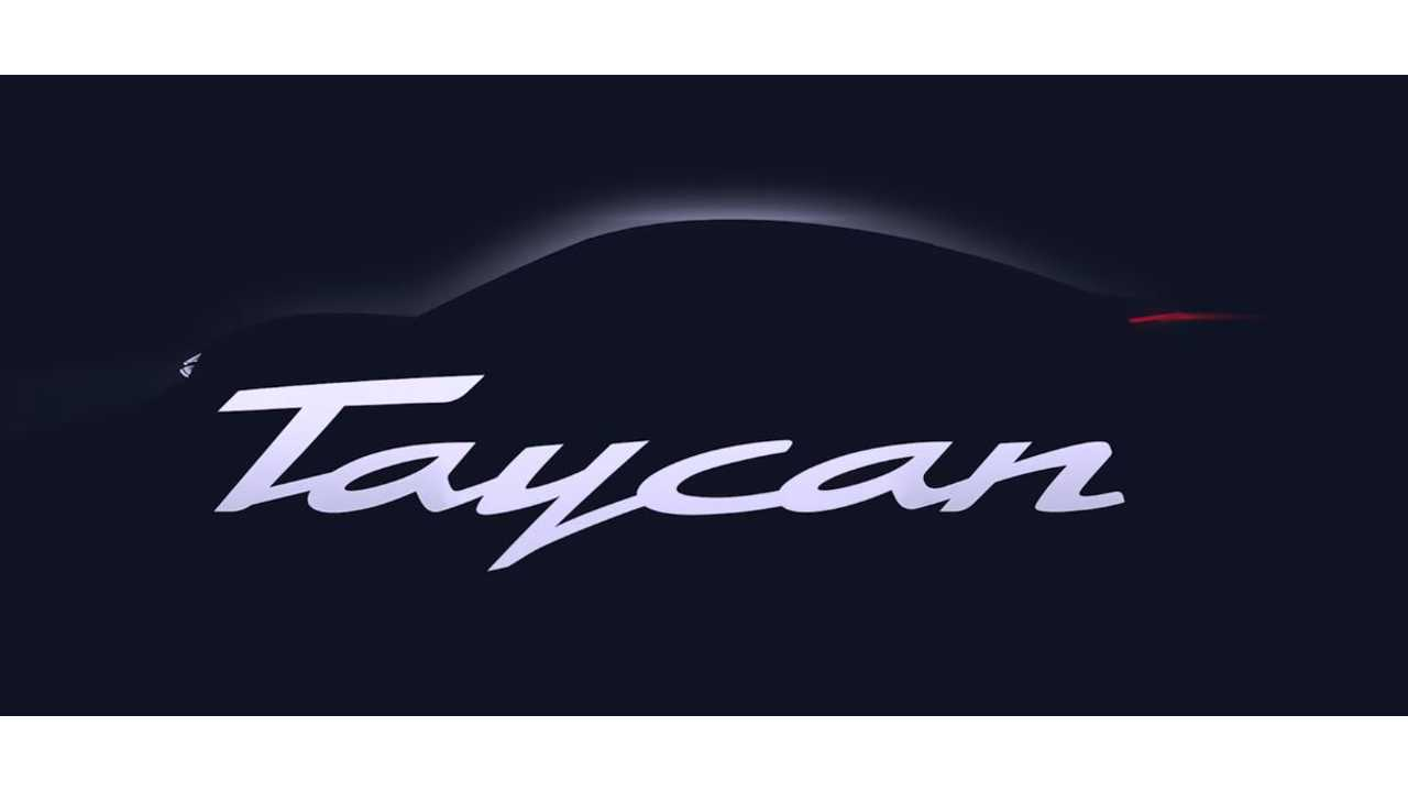 Top-Line Porsche Taycan To Be Called