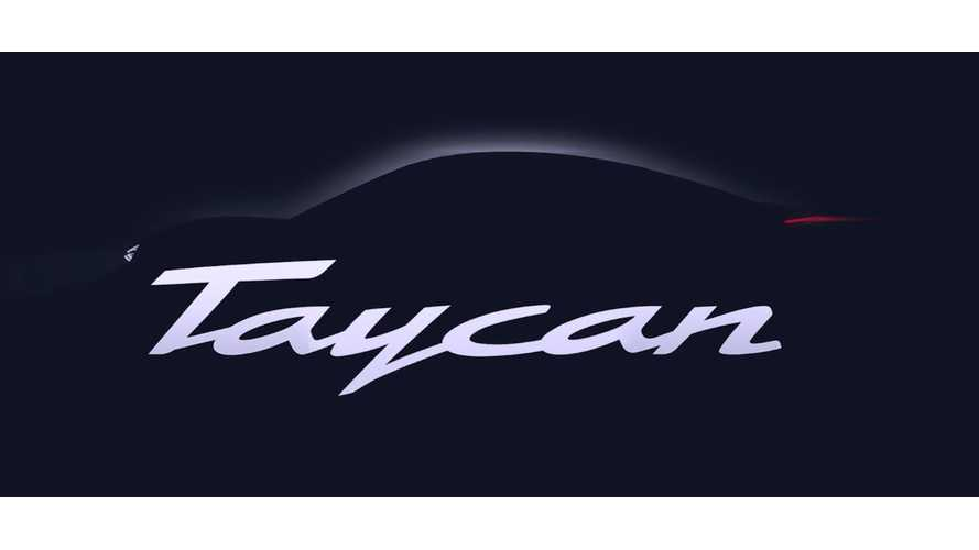 "Top-Line Porsche Taycan To Be Called ""Taycan Turbo"""
