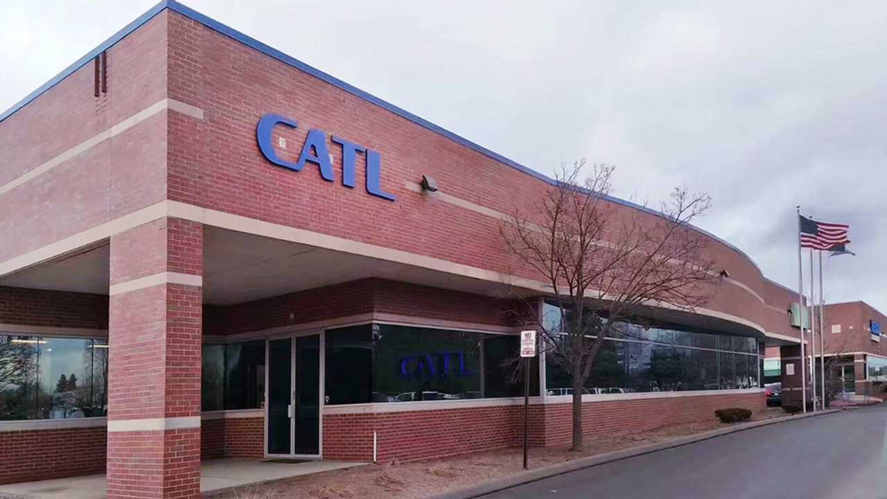 Battery Maker CATL Opens First North American Center In Detroit