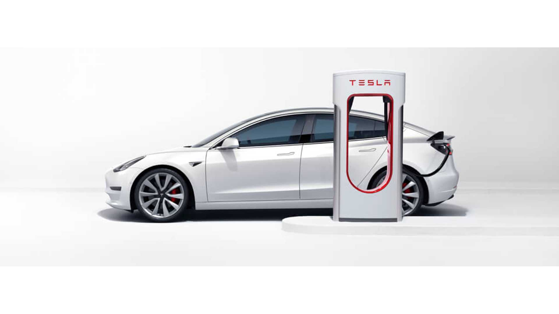 Tesla Model 3 Charges Up To 20-25% Quicker At V2 Superchargers