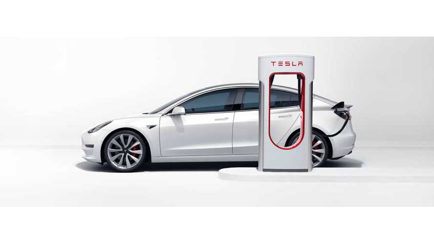 Tesla Model 3 Mid-Range To Supercharge At Up To 200 kW