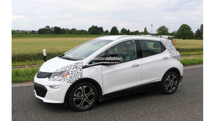 Opel Ampera-e Spied in Germany